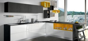 Modern Kitchen Moon Design