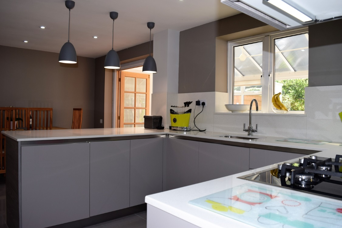 kitchen design in oxfordshire contemporary kitchen diner modern design oxfordshire 572